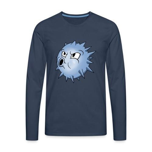 BLOWFISH! - Herre premium T-shirt med lange ærmer