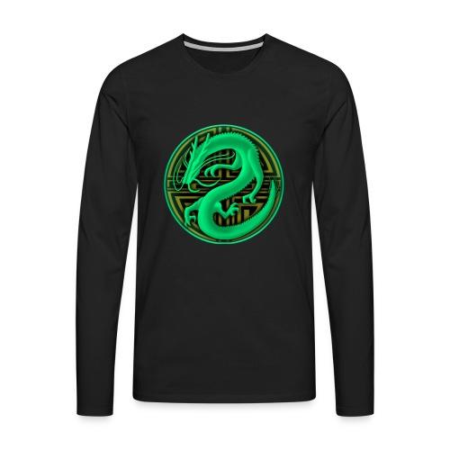 logo mic03 the gamer - Maglietta Premium a manica lunga da uomo