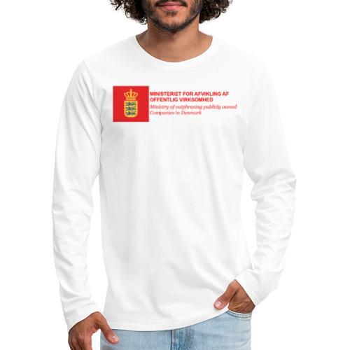 MINISTERIET FOR AFVIKLING AF OFFENTLIG VIRKSOMHED - Herre premium T-shirt med lange ærmer