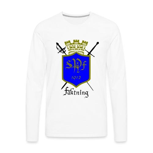 SPIFF Långärmad T-shirt Herr - Långärmad premium-T-shirt herr