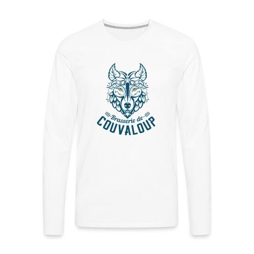 Original Blue Logo - T-shirt manches longues Premium Homme