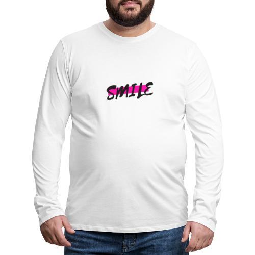 smile - T-shirt manches longues Premium Homme