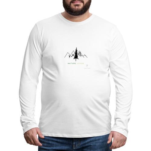 Nature Lover - Männer Premium Langarmshirt