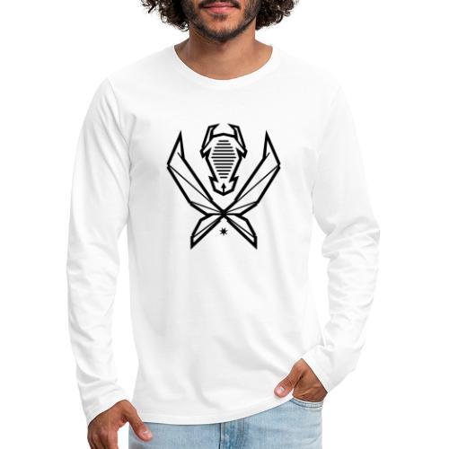 Logo MizAl 2K18 - Koszulka męska Premium z długim rękawem