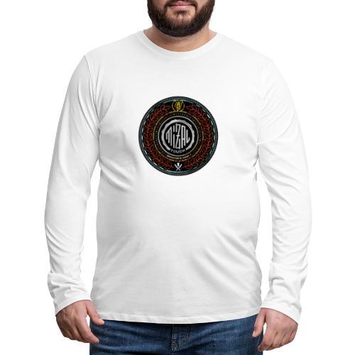 MizAl Blason - Koszulka męska Premium z długim rękawem