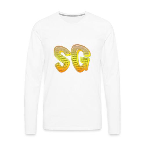 Felpa SG Uomo - Maglietta Premium a manica lunga da uomo