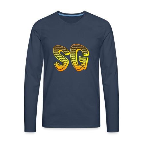 Cover S6 - Maglietta Premium a manica lunga da uomo