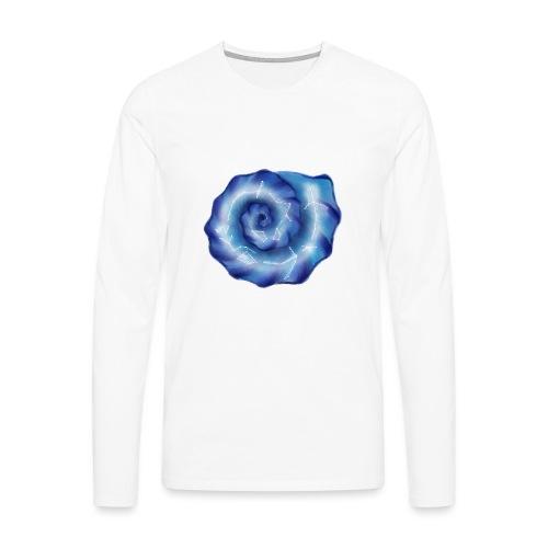 Galaktische Spiralenmuschel! - Männer Premium Langarmshirt
