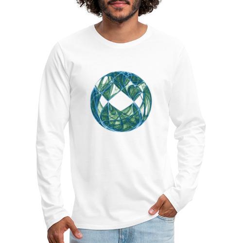 Harmony in the Ocean of Elements 446oce - Men's Premium Longsleeve Shirt