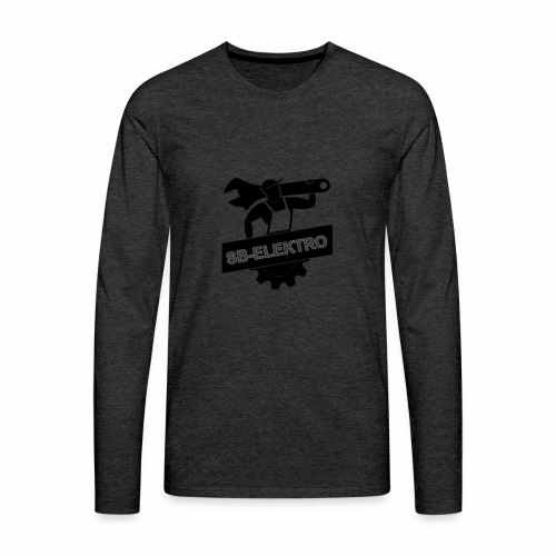SB transp 1000 png - Herre premium T-shirt med lange ærmer