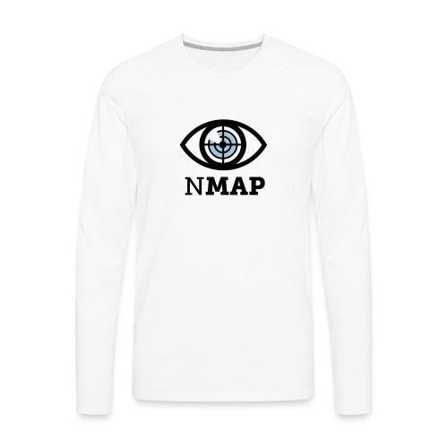 Nmap Eye (II) - Men's Premium Longsleeve Shirt