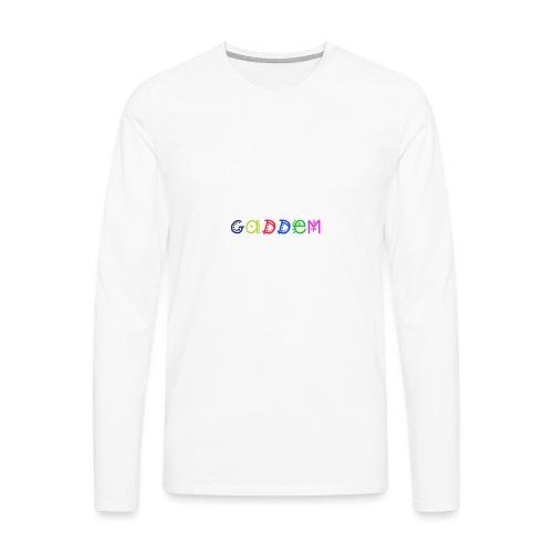 Gaddem - T-shirt manches longues Premium Homme