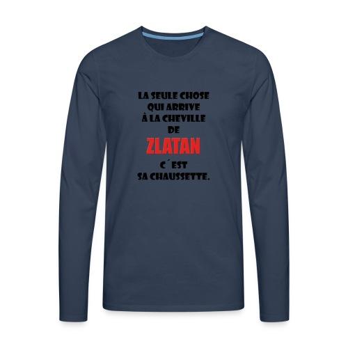 King Zlatan 2 - T-shirt manches longues Premium Homme