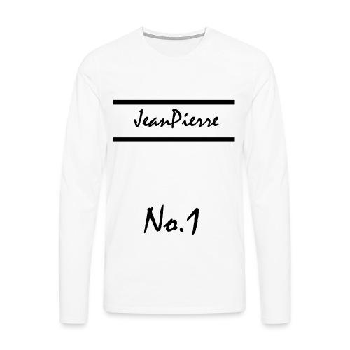 JeanPierreNo1 png - Männer Premium Langarmshirt