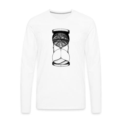 Time is running out! - Männer Premium Langarmshirt