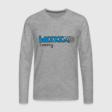 Weekend - Koszulka męska Premium z długim rękawem
