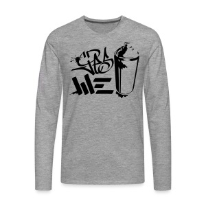Yes We (spray)Can Graffiti handstyle tag - Männer Premium Langarmshirt