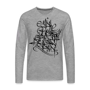 Make Graffiti Great Again - Männer Premium Langarmshirt