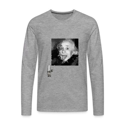 EinsteinGotBalls - Männer Premium Langarmshirt