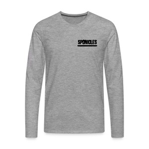 Sponicles Signature Design! - Men's Premium Longsleeve Shirt