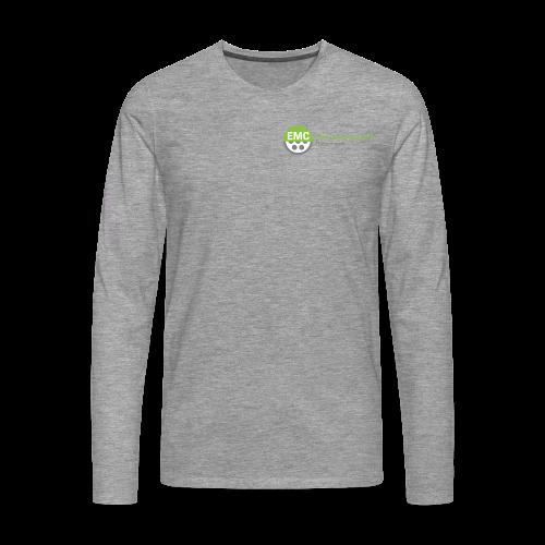 ElektroMobilitätsClub Logo - Männer Premium Langarmshirt