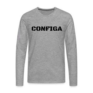 Configa Logo - Men's Premium Longsleeve Shirt