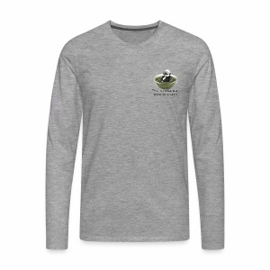 Man-in-pesto - Men's Premium Longsleeve Shirt