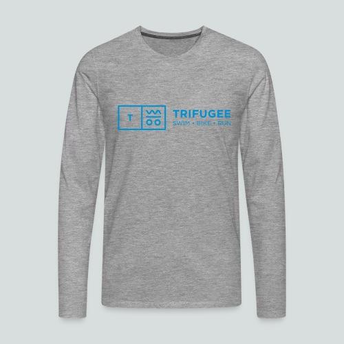 Trifugee_Logo - Männer Premium Langarmshirt