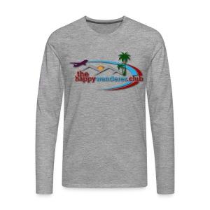The Happy Wanderer Club Merchandise - Men's Premium Longsleeve Shirt