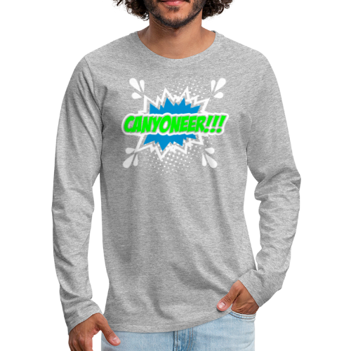 Canyoneer!!! - Männer Premium Langarmshirt
