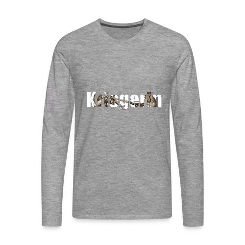 kriegerin - Männer Premium Langarmshirt