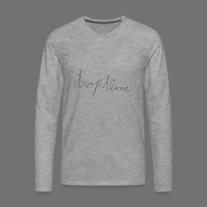 DropAlive - Mannen Premium shirt met lange mouwen
