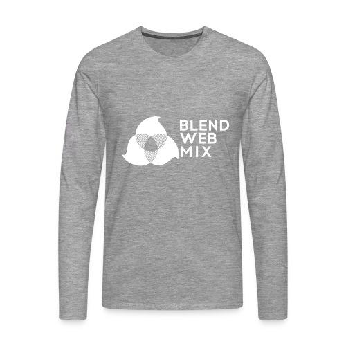 logo bland - T-shirt manches longues Premium Homme