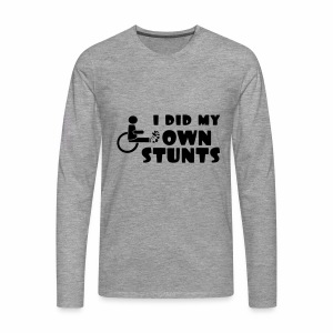 Ownstunts - Mannen Premium shirt met lange mouwen