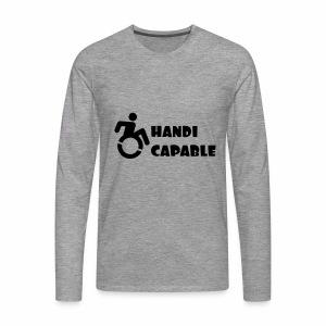 Capable - Mannen Premium shirt met lange mouwen
