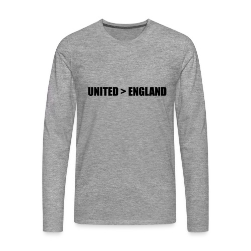 United > England - Men's Premium Longsleeve Shirt