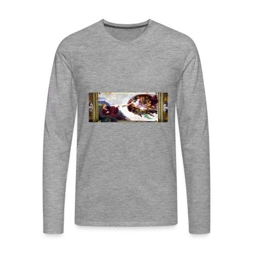 Björns skapelse - Långärmad premium-T-shirt herr