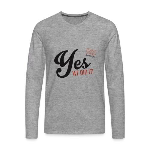 YES-1152.b - Männer Premium Langarmshirt