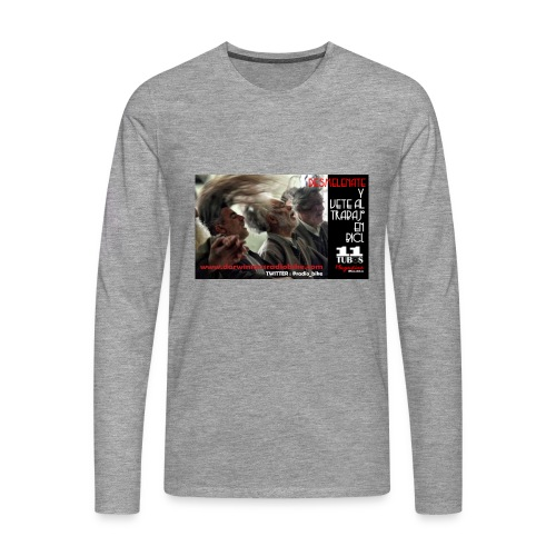 039 desmelénate - Camiseta de manga larga premium hombre