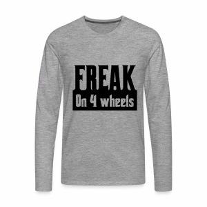Freakon4wheels - Mannen Premium shirt met lange mouwen