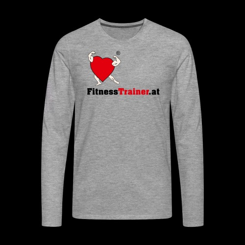 FitnessTrainer.at - Männer Premium Langarmshirt