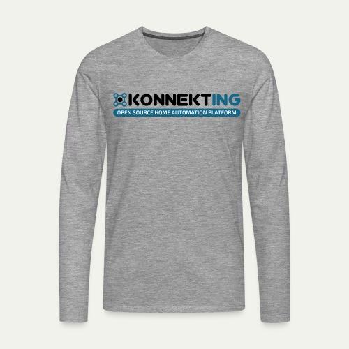 KONNEKTING Logo - Männer Premium Langarmshirt