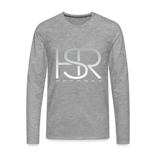 HSR RECORDS - Maglietta Premium a manica lunga da uomo