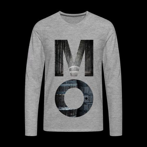 Moonshine Oversight - design épuré - T-shirt manches longues Premium Homme