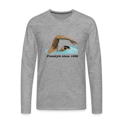 Freestyle - Koszulka męska Premium z długim rękawem