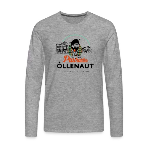 Õllenaut Puuraidur - Men's Premium Longsleeve Shirt