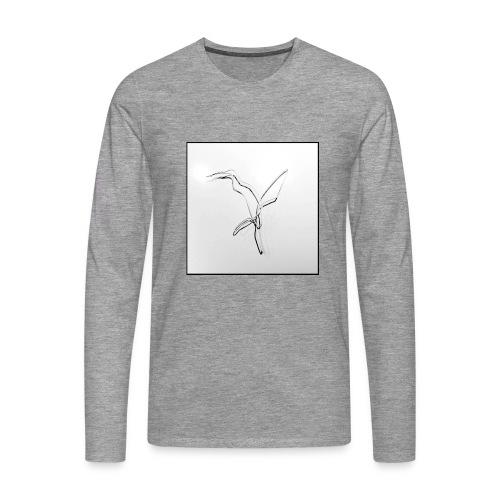 Kolibri - Colibri - Männer Premium Langarmshirt