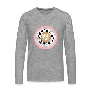 Milfcafé - MILF Logo Instagram Blogger Musthave - Männer Premium Langarmshirt