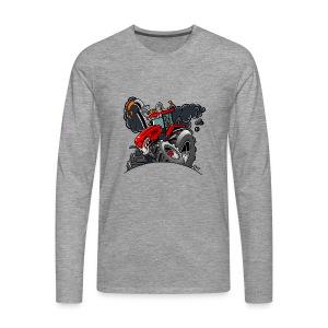 TRACTOR - Mannen Premium shirt met lange mouwen