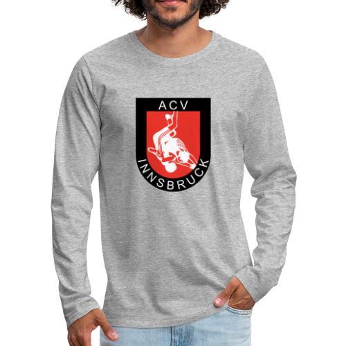 AC Vollkraft Logo - Männer Premium Langarmshirt